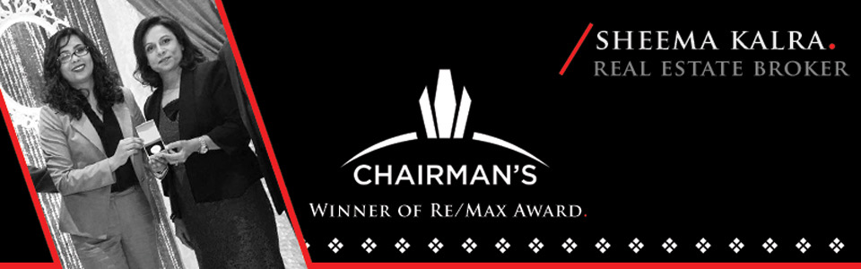 Sheema Kalra Remax Chairmans Club Award Winner