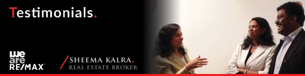 Testimonials from Real Estate Clients Sheema Kalra